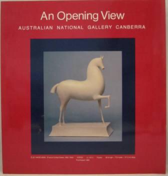 Image for An Opening View: Australian National Gallery
