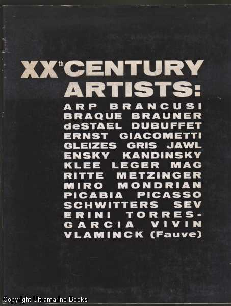 Image for XXth Century Artists ( 20th Century Artists) ( Twentieth Century Artists)