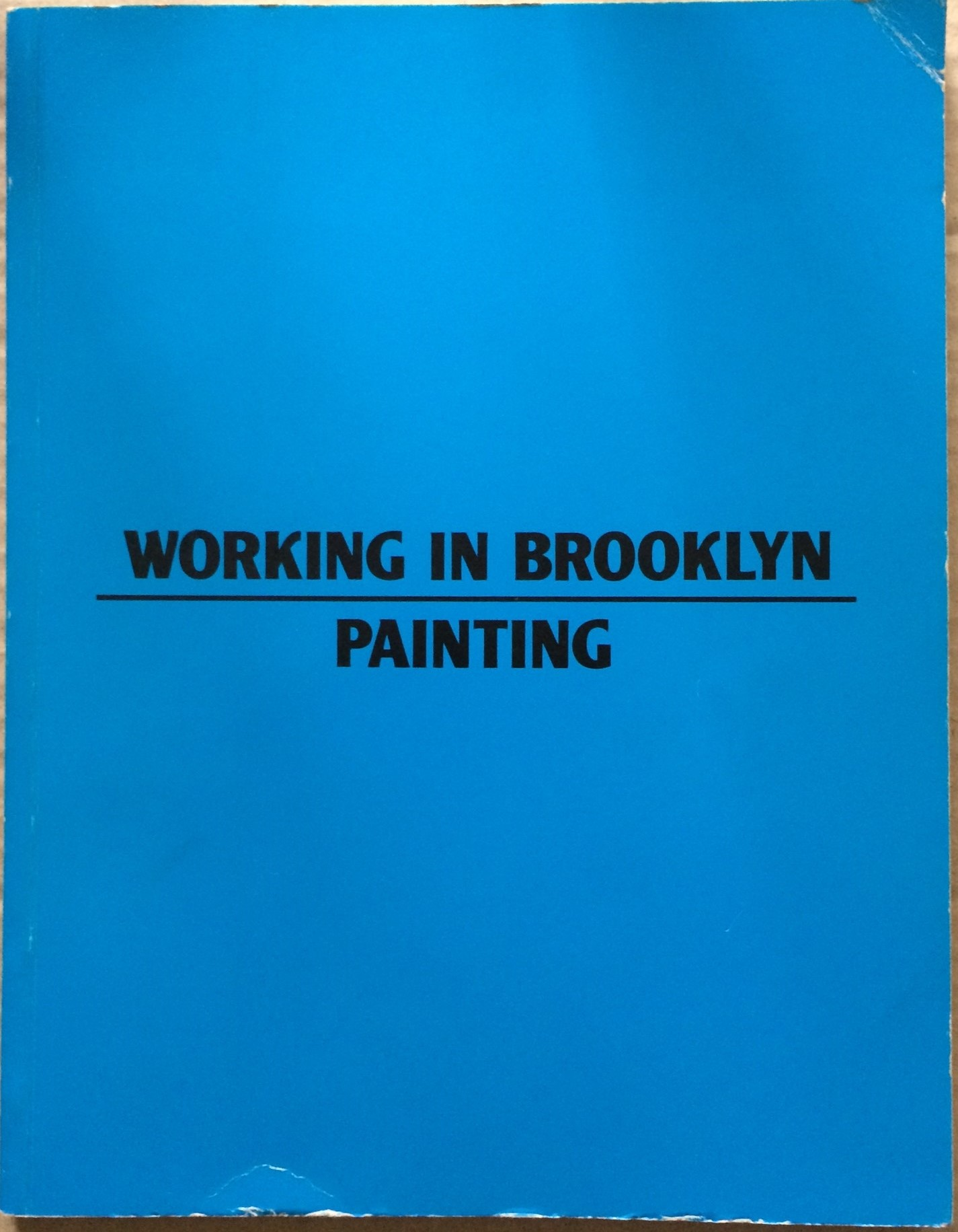 Image for Working in Brooklyn: Painting