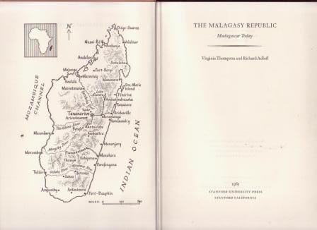 Image for The Malagasy Republic: Madagascar Today