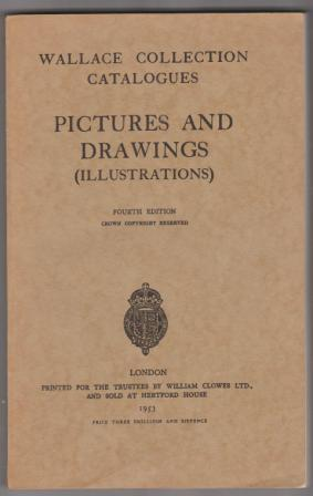 Image for Wallace Collection Catalogues: Pictures and Drawings (Illustrations)