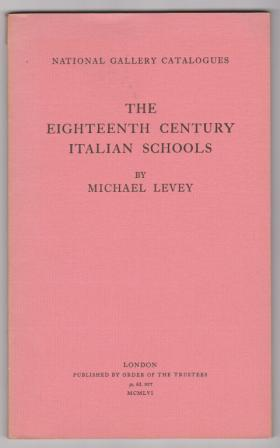 Image for The Eighteenth Century Italian School