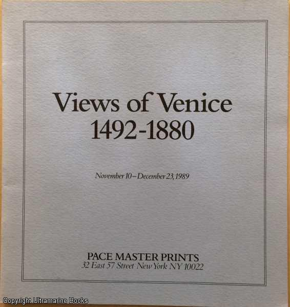Image for Views of Venice 1492-1880