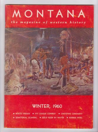 Image for Montana -  the magazine of western history - Winter, 1960