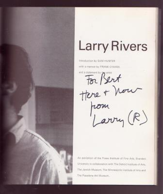 Image for Larry Rivers