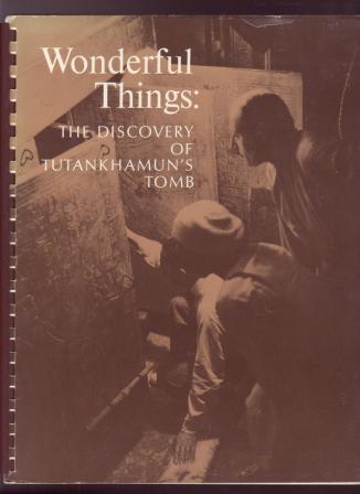 Image for Wonderful Things: The Discovery of Tutankhamun's Tomb
