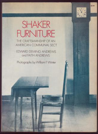 Image for Shaker Furniture: The Craftsmanship of an American Communal Sect
