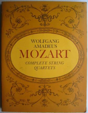 Image for Wolfgang Amadeus Mozart: Complete String Quartets - from the Breitkopf & Hartel Complete Works Edition