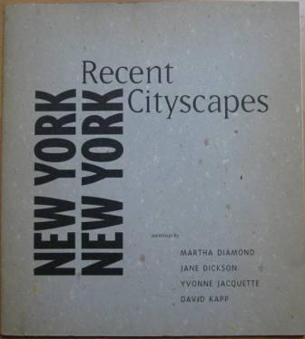 Image for New York New York: Recent Cityscapes