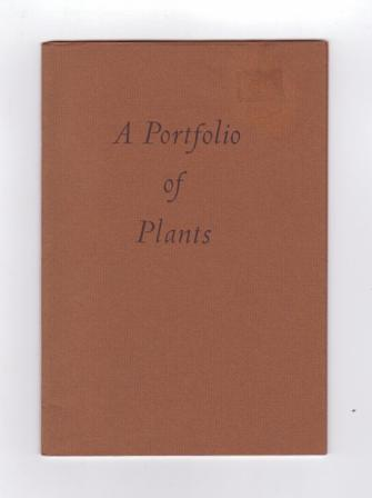 Image for Announcing: A Portfolio of Plants