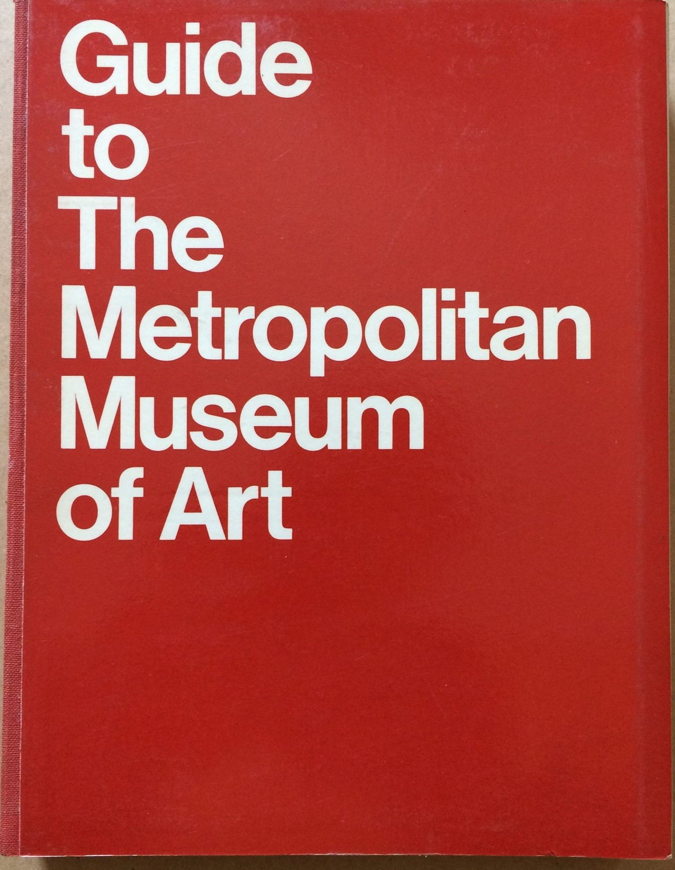 Image for Guide to The Metroploitan Museum of Art