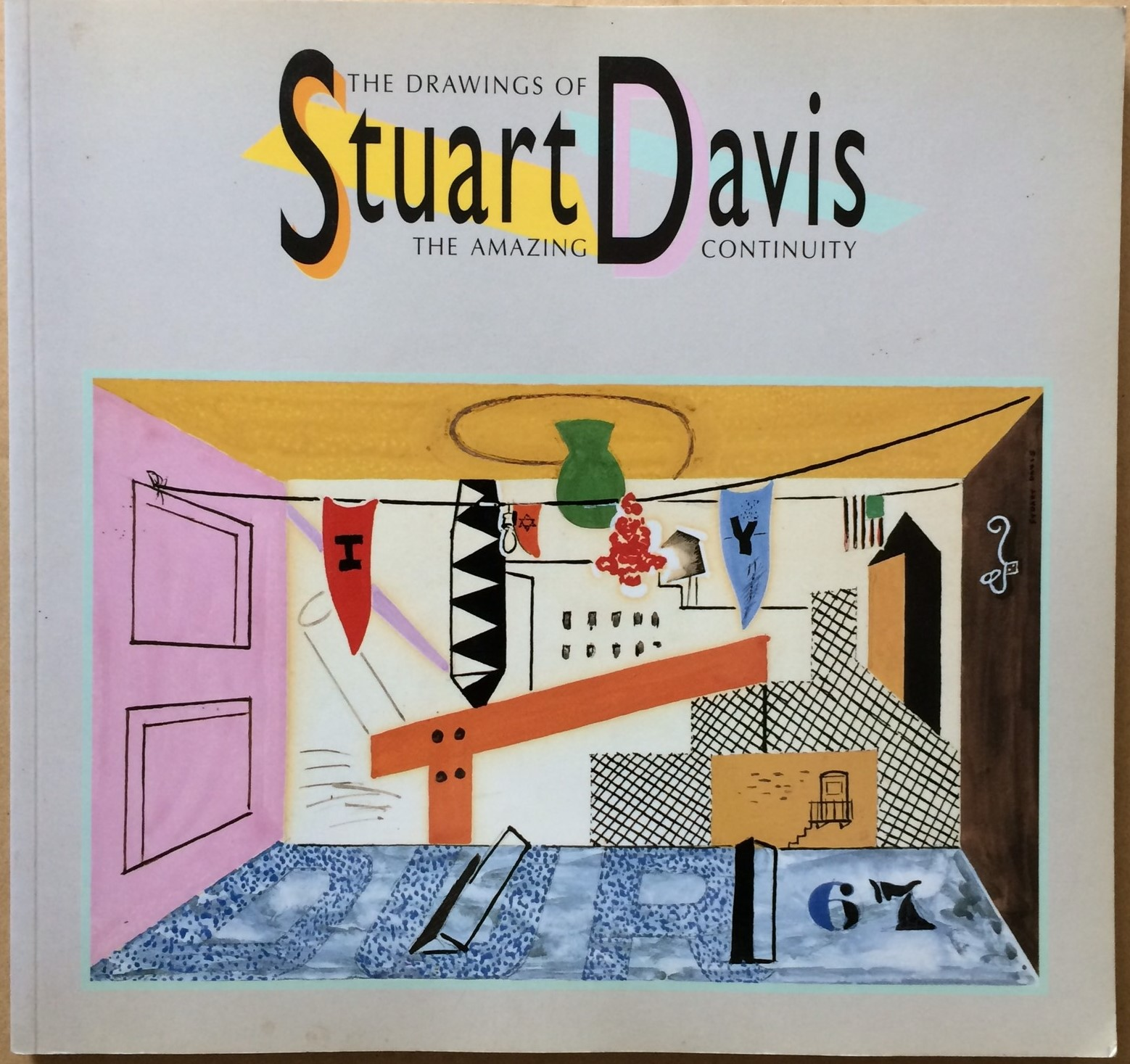 Image for The Amazing Continuity: The Drawings of Stuart Davis