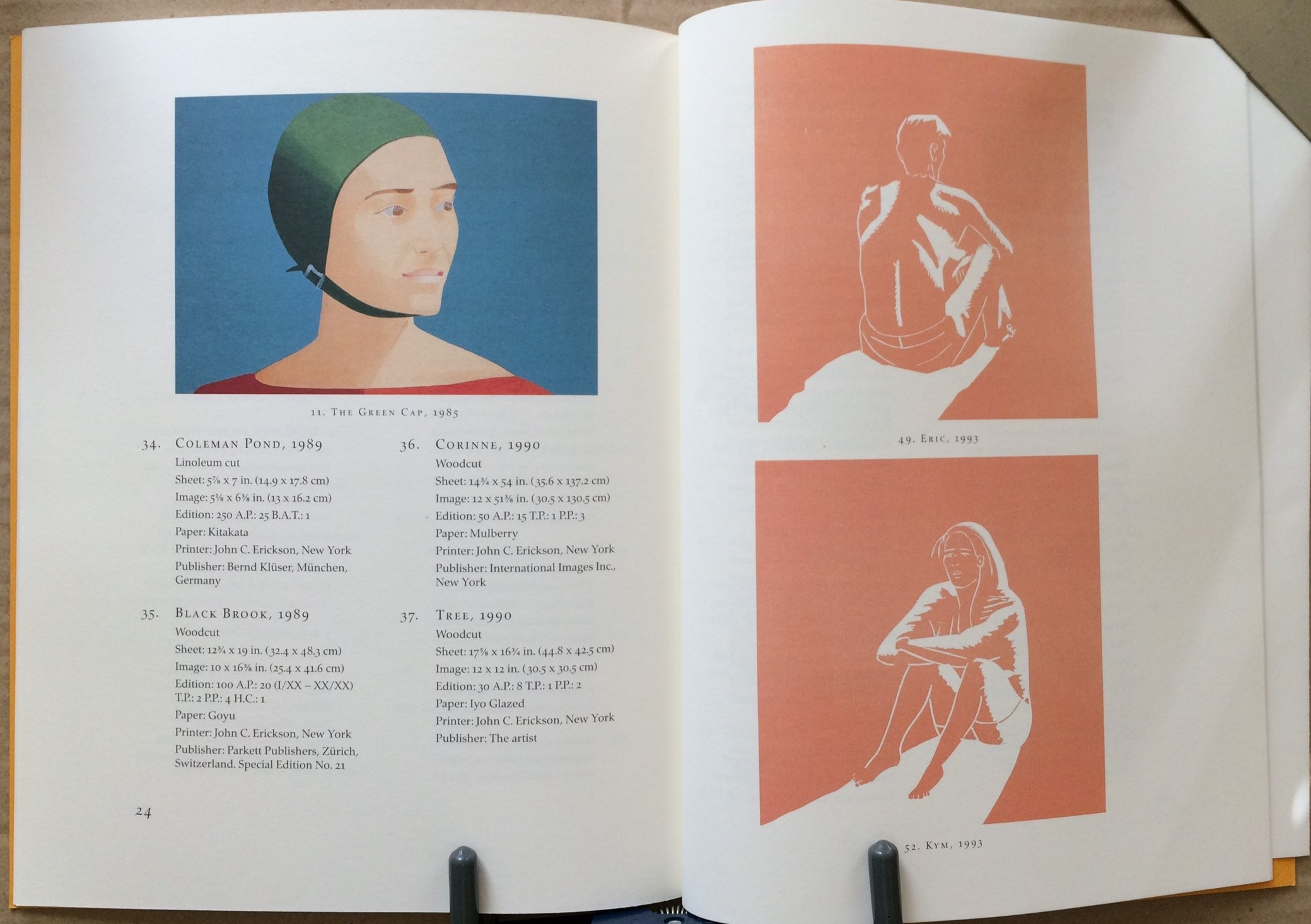 Image for Alex Katz - The Woodcuts and Linocuts 1951-2001