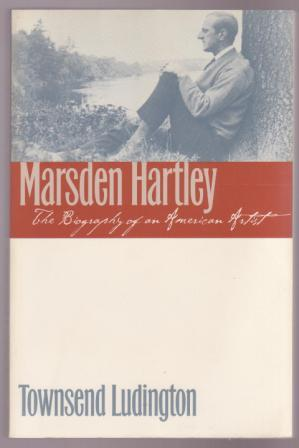 Image for Marsden Hartley: The Biography of an American Artist