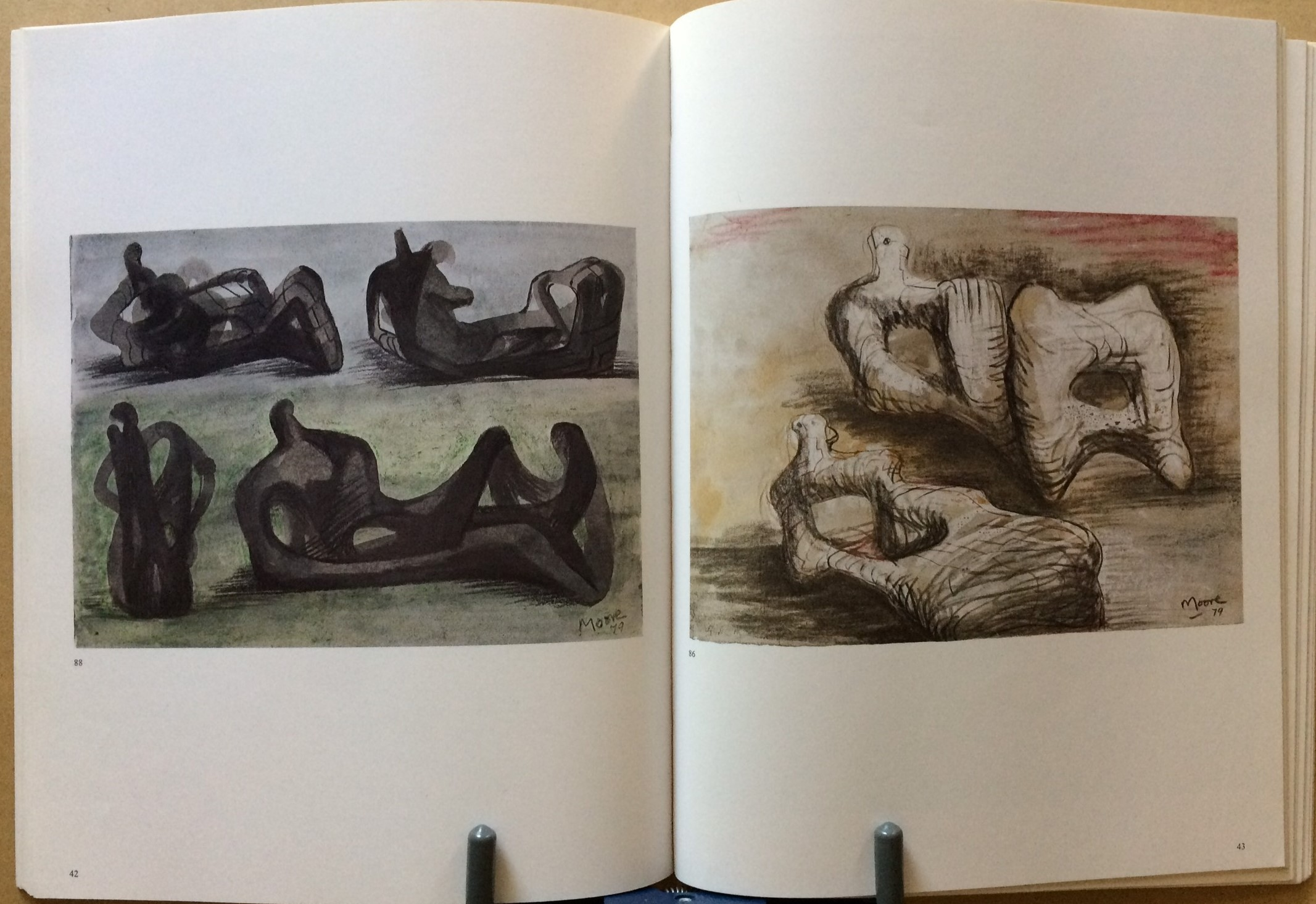 Image for Henry Moore, Drawings 1969-79
