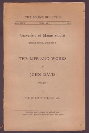 Image for The Life and Works of John Davis, 1774-1853