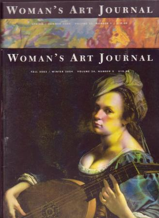 Image for Woman's Art Journal; Volumes 24,25; 2004