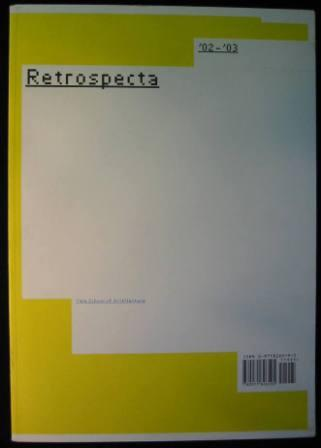 Image for Retrospecta '02-'03