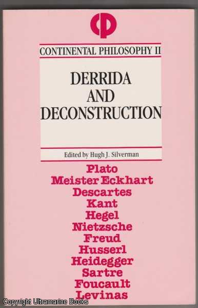 Image for Derrida and Deconstruction