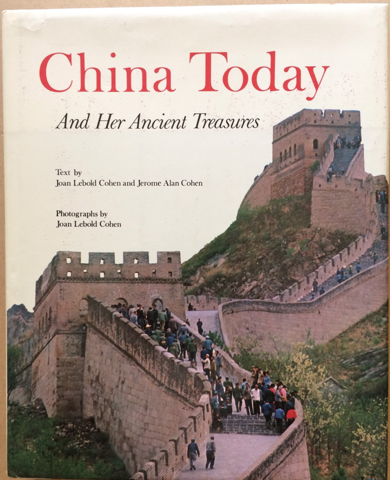 Image for China Today and Her Ancient Treasures