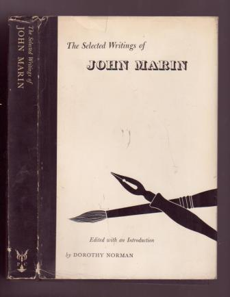 Image for The Selected Writings of John Marin
