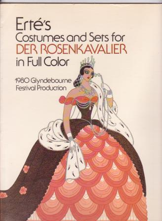 Image for Erté's Costumes & Sets for Der Rosenkavalier in Full Color / Erte's Costumes and Sets for Der Rosenkavalier
