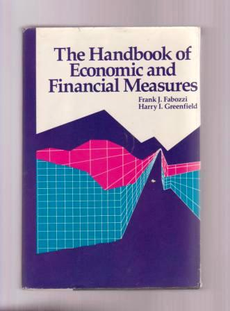 Image for The Handbook of Economice and Financial Measures