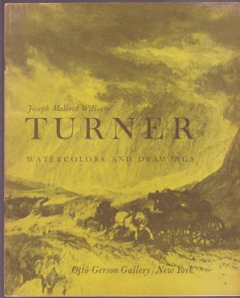 Image for Joseph Mallord William Turner: Watercolors and Drawings