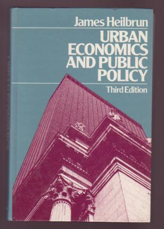 Image for Urban Economics and Public Policy - Third Edition