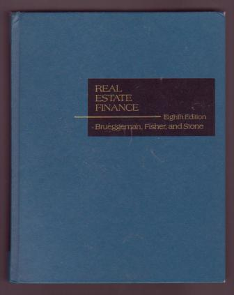 Image for Real Estate Finance - Eighth Edition