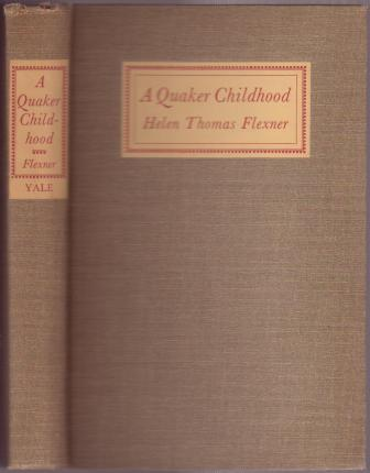 Image for A Quaker Childhood