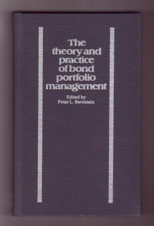 Image for The theory and practice of bond portfolio management - 2 Volumes