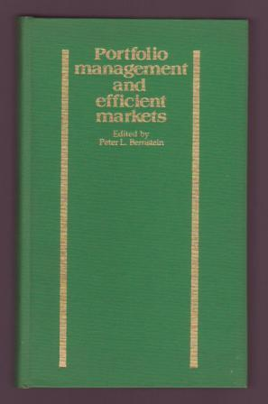Image for Portfolio Management and efficient markets: Theoretical Relevance and Practical Applications