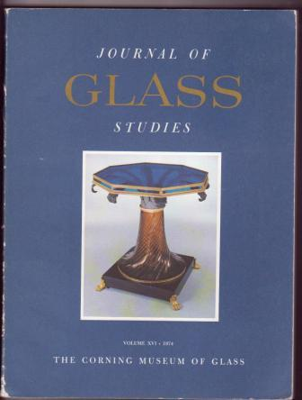 Image for Journal of Glass Studies, Volume  XVI