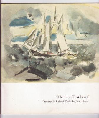 Image for The Line That Lives: Drawings & Related Works by John Marin