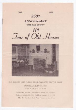 Image for 11th Tour of Old Houses - 350th Anniversary, Cape May County