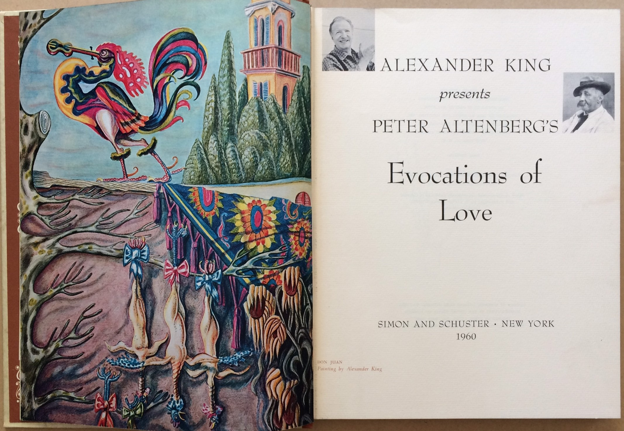 Image for Alexander King presents Peter Altenberg's Evocations of Love