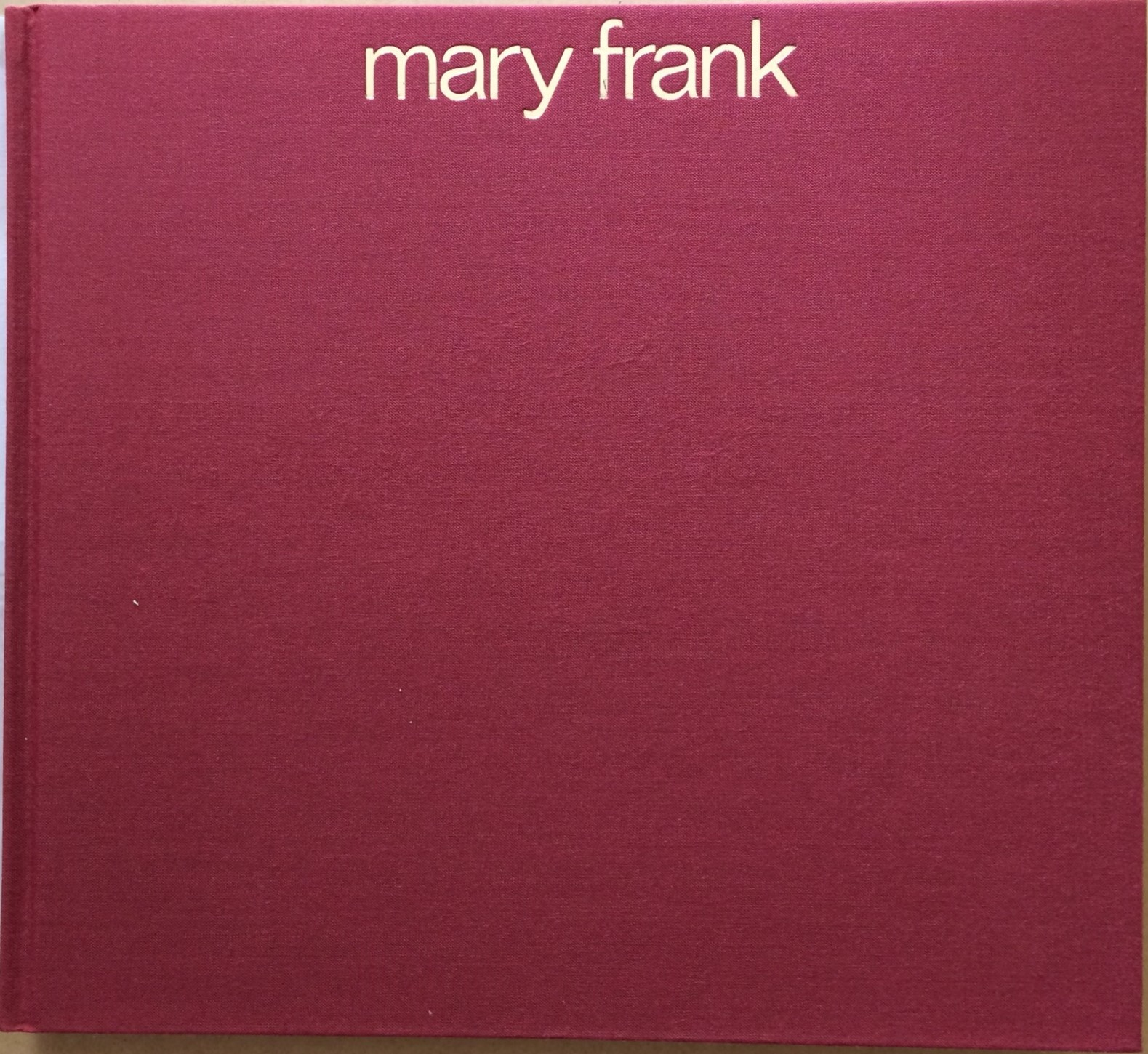 Image for Mary Frank