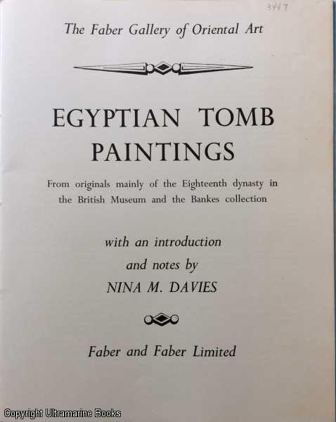 Image for Egyptian Tomb Paintings