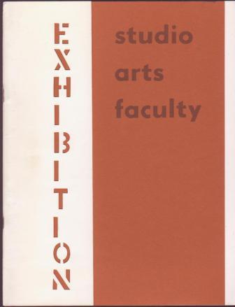 Image for Studio Arts Faculty Exhibition 1972