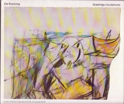 Image for de Kooning: drawings / sculptures