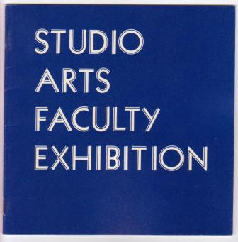 Image for Studio Arts Faculty Exhibition, 1977