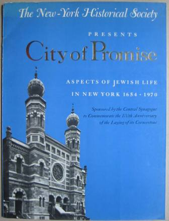 Image for City of Promise: Aspects of Jewish Life in New York 1654-1970