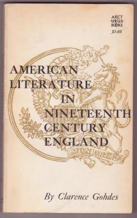Image for American Literature in Nineteenth Century England