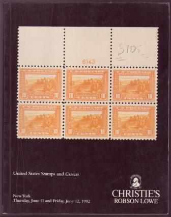 Image for Christie's-Robson Lowe - United States Stamps and Covers