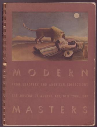 Image for Modern Masters from European and American Collections