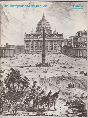 Image for The Building of The Vatican: The Papacy and Architecture / The Metropolitan Museum of Art Bulletin
