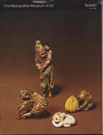 Image for Netsuke: The Small Sculptures of Japan / The Metropolitan Museum of Art Bulletin