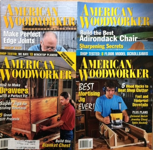 Image for American Woodworker. 4 volumes