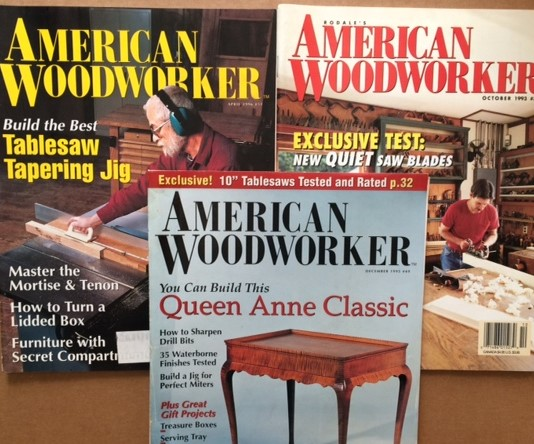 Image for American Woodworker. 3 volumes.